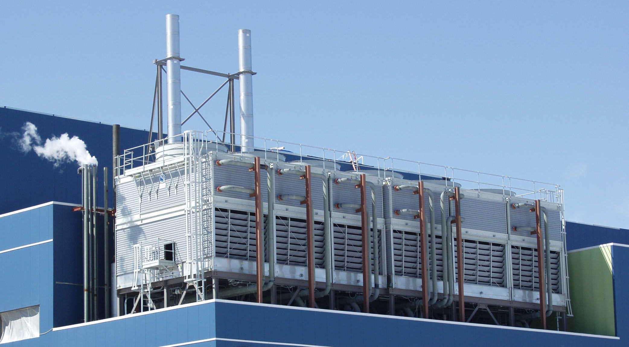 Detec Desarrollos tecnológicos - torre refrigeración